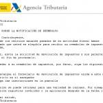 AVISO URGENTE!!: A.E.A.T. FRAUDE EN CORREOS ELECTRONICOS