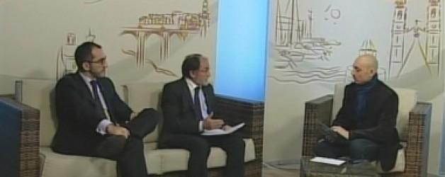 Mauricio Ferre y Francisco Lopez en TV Comarcal 24-01-2012